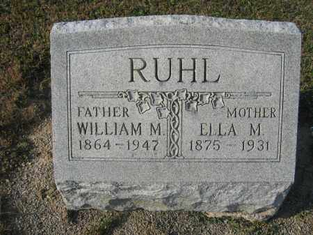 RUHL, ELLA M. HARPER - Union County, Ohio | ELLA M. HARPER RUHL - Ohio Gravestone Photos