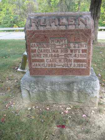 RUHLEN, HENRY - Union County, Ohio | HENRY RUHLEN - Ohio Gravestone Photos