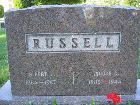 RUSSELL, ALBERT L. - Union County, Ohio | ALBERT L. RUSSELL - Ohio Gravestone Photos
