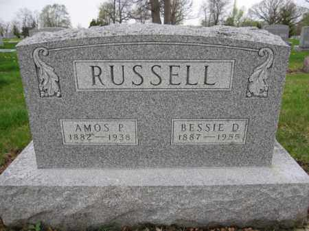 RUSSELL, AMOS - Union County, Ohio | AMOS RUSSELL - Ohio Gravestone Photos