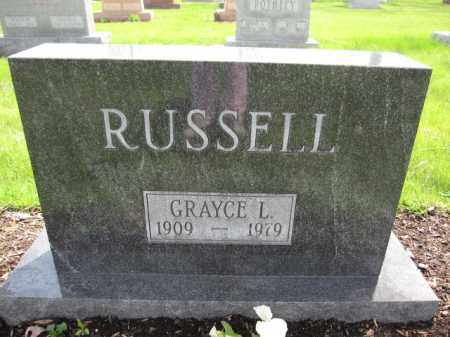 RUSSELL, GRAYCE L. - Union County, Ohio | GRAYCE L. RUSSELL - Ohio Gravestone Photos