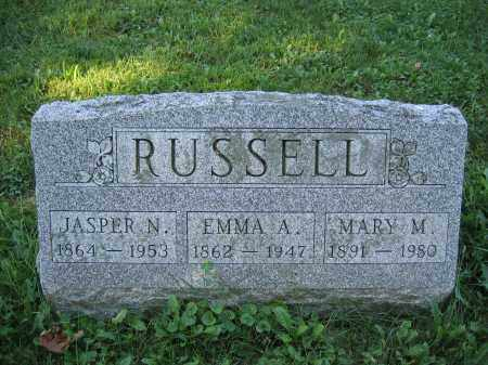 RUSSELL, MARY M. - Union County, Ohio | MARY M. RUSSELL - Ohio Gravestone Photos
