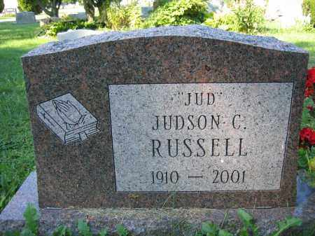 RUSSELL, JUDSON C. - Union County, Ohio | JUDSON C. RUSSELL - Ohio Gravestone Photos