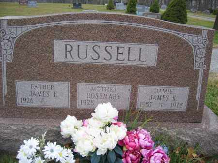 RUSSELL, JAMES E. - Union County, Ohio | JAMES E. RUSSELL - Ohio Gravestone Photos