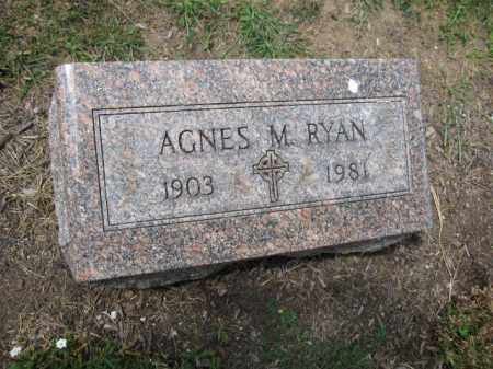 RYAN, AGNES M. - Union County, Ohio | AGNES M. RYAN - Ohio Gravestone Photos