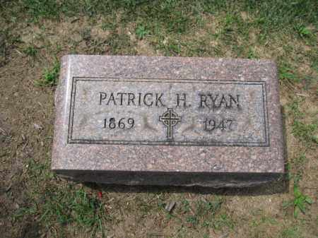 RYAN, PATRICK H. - Union County, Ohio | PATRICK H. RYAN - Ohio Gravestone Photos