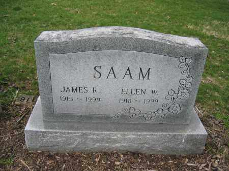 SAAM, JAMES R. - Union County, Ohio | JAMES R. SAAM - Ohio Gravestone Photos