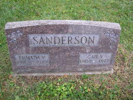 SANDERSON, GAIL V. - Union County, Ohio | GAIL V. SANDERSON - Ohio Gravestone Photos