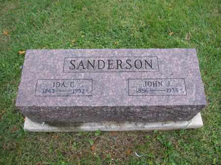 SANDERSON, JOHN J. - Union County, Ohio | JOHN J. SANDERSON - Ohio Gravestone Photos