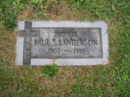 SANDERSON, PAUL S. - Union County, Ohio | PAUL S. SANDERSON - Ohio Gravestone Photos