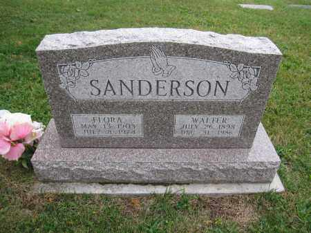 SANDERSON, WALTER - Union County, Ohio | WALTER SANDERSON - Ohio Gravestone Photos