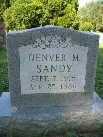 SANDY, DENVER M. - Union County, Ohio | DENVER M. SANDY - Ohio Gravestone Photos