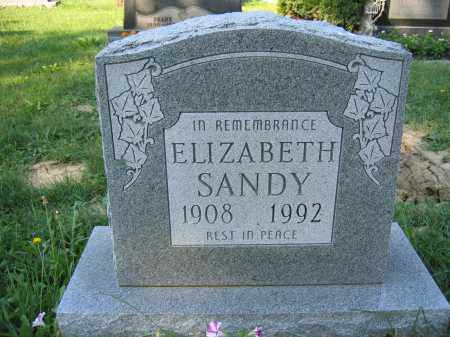 SANDY, ELIZABETH - Union County, Ohio | ELIZABETH SANDY - Ohio Gravestone Photos