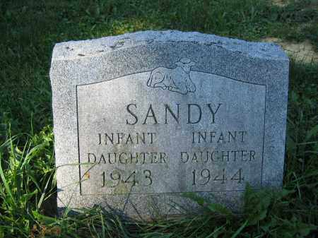 SANDY, INFANT DAUGHTER - Union County, Ohio | INFANT DAUGHTER SANDY - Ohio Gravestone Photos