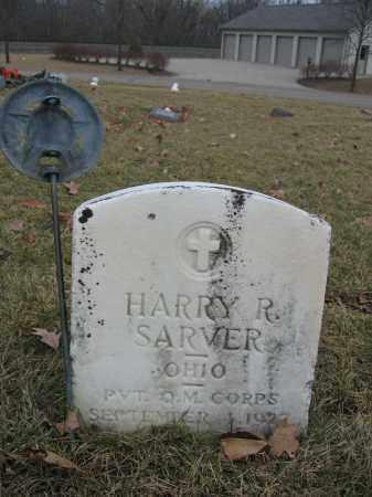 SARVER, HARRY R. - Union County, Ohio | HARRY R. SARVER - Ohio Gravestone Photos