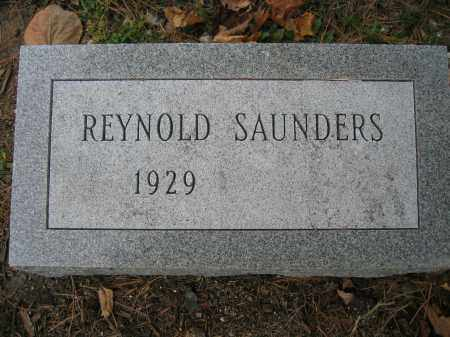 SAUNDERS, REYNOLD - Union County, Ohio | REYNOLD SAUNDERS - Ohio Gravestone Photos