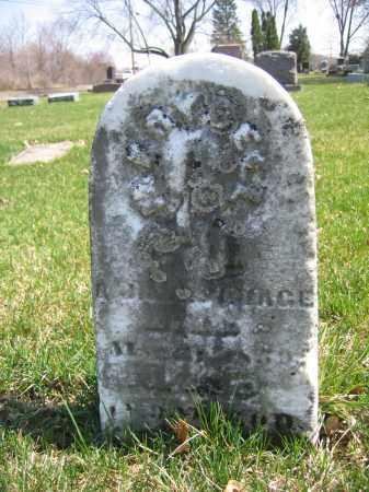 SAVAGE, MARY BELL - Union County, Ohio | MARY BELL SAVAGE - Ohio Gravestone Photos