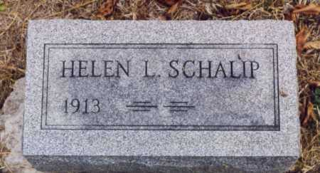 SCHALIP, HELEN L - Union County, Ohio | HELEN L SCHALIP - Ohio Gravestone Photos