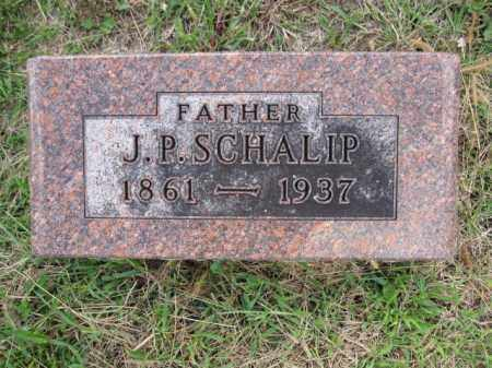SCHALIP, J.P. - Union County, Ohio | J.P. SCHALIP - Ohio Gravestone Photos