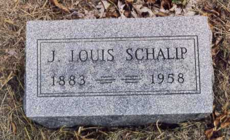 SCHALIP, J LOUIS - Union County, Ohio | J LOUIS SCHALIP - Ohio Gravestone Photos