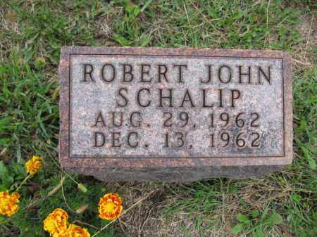 SCHALIP, ROBERT JOHN - Union County, Ohio | ROBERT JOHN SCHALIP - Ohio Gravestone Photos