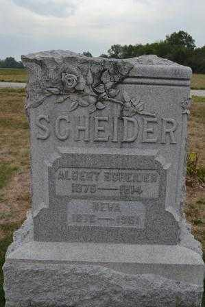 SCHEIDERER, NEVA - Union County, Ohio | NEVA SCHEIDERER - Ohio Gravestone Photos