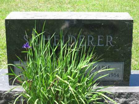 SCHEIDERER, MARIE - Union County, Ohio | MARIE SCHEIDERER - Ohio Gravestone Photos
