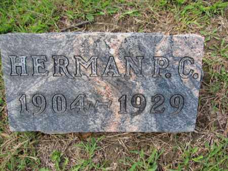 SCHEIDERER, HERMAN P.C. - Union County, Ohio | HERMAN P.C. SCHEIDERER - Ohio Gravestone Photos