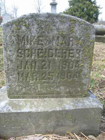 SCHEIDERER, MIKE & MARY - Union County, Ohio | MIKE & MARY SCHEIDERER - Ohio Gravestone Photos