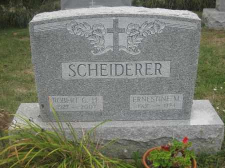 SCHEIDERER, ROBERT G.H. - Union County, Ohio | ROBERT G.H. SCHEIDERER - Ohio Gravestone Photos