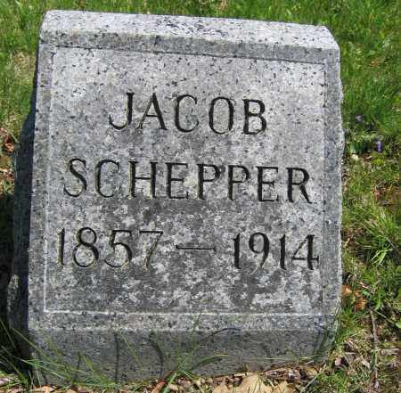 SCHEPPER, JACOB - Union County, Ohio | JACOB SCHEPPER - Ohio Gravestone Photos