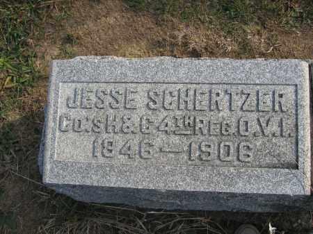 SCHERTZER, JESSE - Union County, Ohio | JESSE SCHERTZER - Ohio Gravestone Photos
