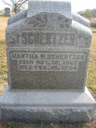 SCHERTZER, MARTHA M. - Union County, Ohio | MARTHA M. SCHERTZER - Ohio Gravestone Photos