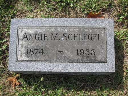 SCHLEGEL, ANGIE M. - Union County, Ohio | ANGIE M. SCHLEGEL - Ohio Gravestone Photos