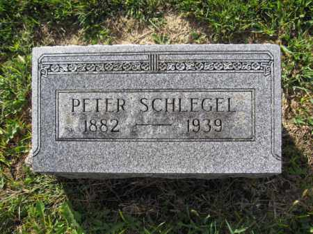SCHLEGEL, PETER - Union County, Ohio | PETER SCHLEGEL - Ohio Gravestone Photos