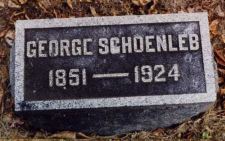 SCHOENLEB, GEORGE - Union County, Ohio | GEORGE SCHOENLEB - Ohio Gravestone Photos