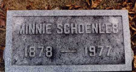 SCHOENLEB, MINNIE - Union County, Ohio | MINNIE SCHOENLEB - Ohio Gravestone Photos