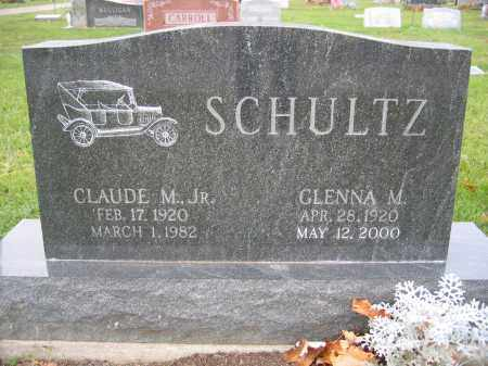 SCHULTZ, JR., CLAUDE M. - Union County, Ohio | CLAUDE M. SCHULTZ, JR. - Ohio Gravestone Photos