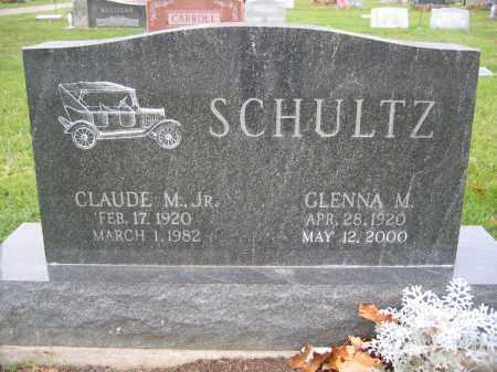 SCHULTZ, GLENNA M. - Union County, Ohio | GLENNA M. SCHULTZ - Ohio Gravestone Photos