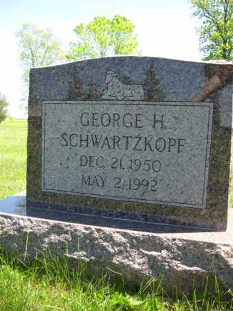 SCHWARTZKOPF, GEORGE H. - Union County, Ohio | GEORGE H. SCHWARTZKOPF - Ohio Gravestone Photos