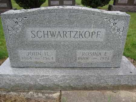 SCHWARTZKOPF, ROSINA E. KANDEL - Union County, Ohio | ROSINA E. KANDEL SCHWARTZKOPF - Ohio Gravestone Photos