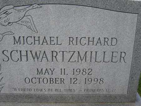 SCHWARTZMILLER, MICHAEL RICHARD - Union County, Ohio | MICHAEL RICHARD SCHWARTZMILLER - Ohio Gravestone Photos