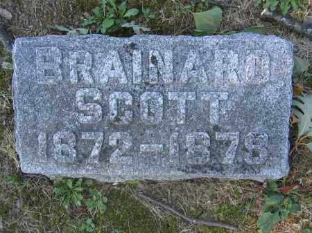 SCOTT, BRAINARD - Union County, Ohio | BRAINARD SCOTT - Ohio Gravestone Photos