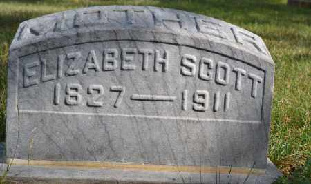 SCOTT, ELIZABETH - Union County, Ohio | ELIZABETH SCOTT - Ohio Gravestone Photos