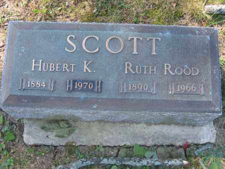SCOTT, RUTH ROOD - Union County, Ohio | RUTH ROOD SCOTT - Ohio Gravestone Photos