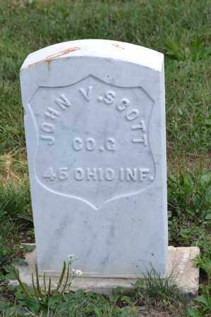 SCOTT, JOHN V. - Union County, Ohio | JOHN V. SCOTT - Ohio Gravestone Photos