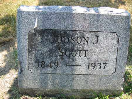 SCOTT, JUDSON J. - Union County, Ohio | JUDSON J. SCOTT - Ohio Gravestone Photos