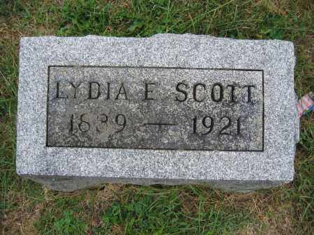 SCOTT, LYDIA E. - Union County, Ohio | LYDIA E. SCOTT - Ohio Gravestone Photos