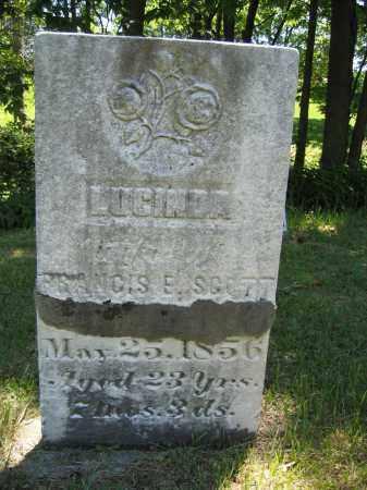SCOTT, LUCINDA - Union County, Ohio | LUCINDA SCOTT - Ohio Gravestone Photos