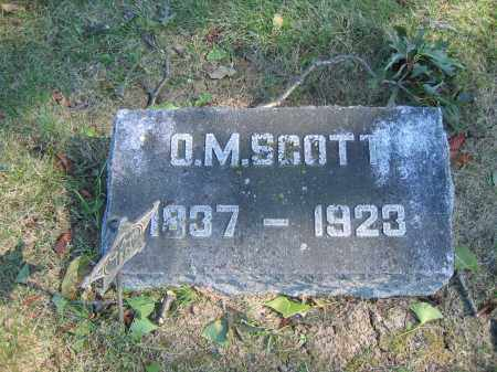 SCOTT, O.M. - Union County, Ohio | O.M. SCOTT - Ohio Gravestone Photos